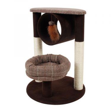 Nobleza Ονυχοδρόμιο Γάτας με Φωλιά, Τούνελ και Φτερά
