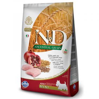 N&D Ancestral Low Grain Chicken & Pomegranate Adult Mini