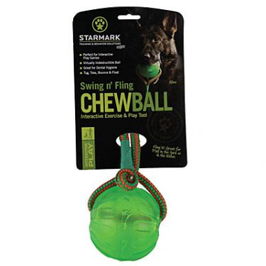 Starmark Swing 'n Fling Chew Ball
