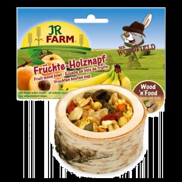 JR Farm Ξύλινο Μπωλ με Φρούτα