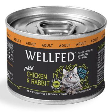 Wellfed Adult Chicken & Rabbit