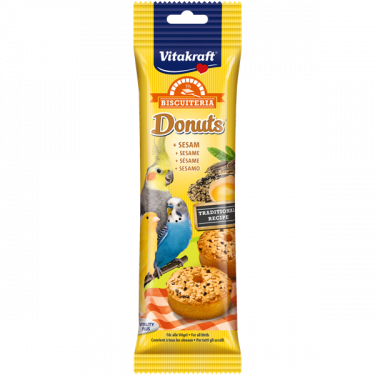 Vitakraft Donuts Με Σουσάμι για Παπαγαλάκια