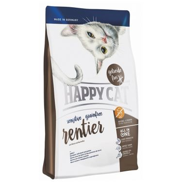 Happy Cat Sensitive-Grain & Gluten Free Τάρανδος