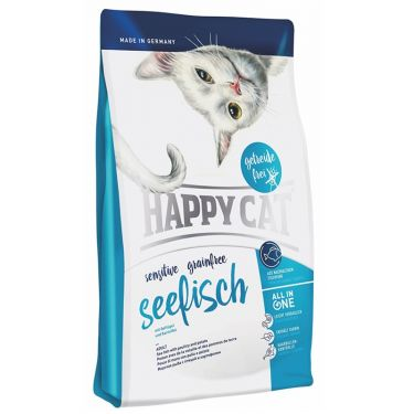 Happy Cat Sensitive-Grain & Gluten Free Θαλασσινά