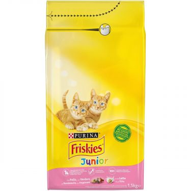 Friskies Junior Κοτόπουλο Γάλα & Πρόσθετα Λαχανικά