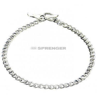 Sprenger Steel Chrome-Plated Collar 50908 Round Links