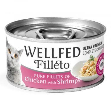 Wellfed Filleto Chicken & Shrimps