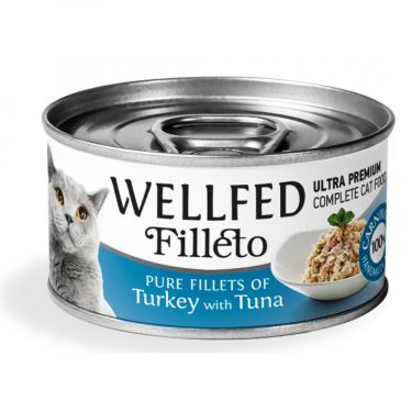 Wellfed Filleto Turkey & Tuna