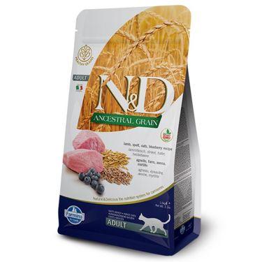 N&D Ancestral Low Grain Lamb & Blueberry Adult Cat