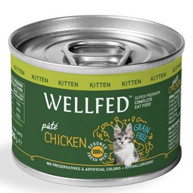 Wellfed Kitten Pure Chicken