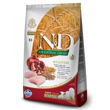 N&D Ancestral Low Grain Chicken & Pomegranate Puppy Starter