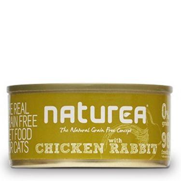 Naturea Chicken with Rabbit κονσέρβα γάτας