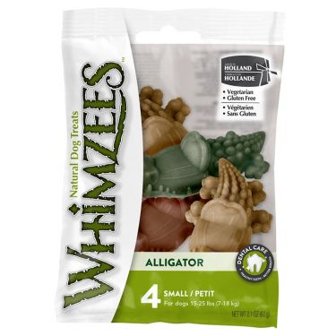 Whimzees Alligator Λιχουδιά Σκύλου Σε Σακουλάκι