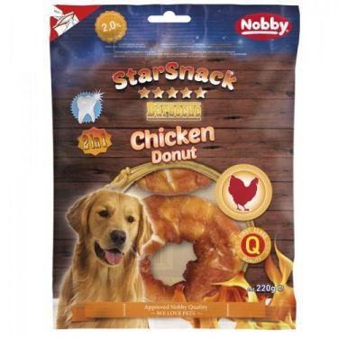 Nobby StarSnack Barbecue Chicken Donut