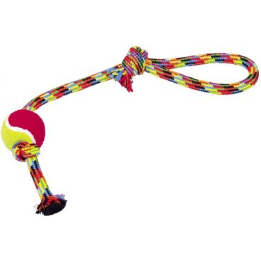 Nobby Λούτρινο Rope Toy with Tennis Ball