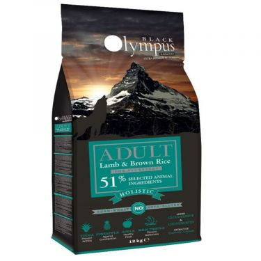 Black Olympus All Breeds Adult Lamb & Brown Rice