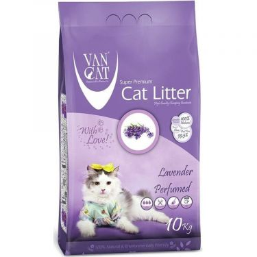 Van Cat Levander Clumping