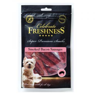 Freshness Celebrate Grain Free Smoked Bacon Sausages