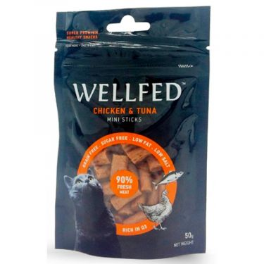 Wellfed Cat Mini Sticks Chicken & Tuna