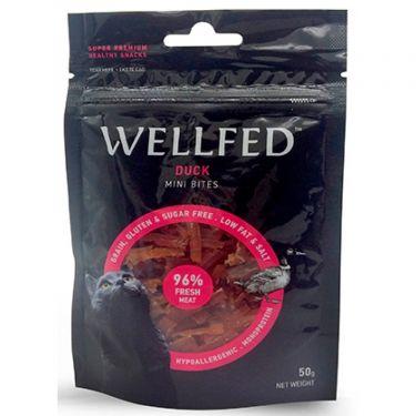 Wellfed Cat Mini Duck Bites