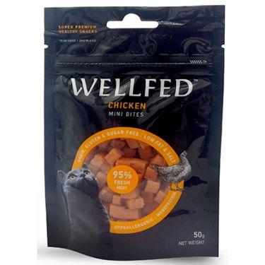 Wellfed Cat Mini Chicken Bites