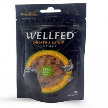Wellfed Cat Mini Fillets Chicken & Catnip