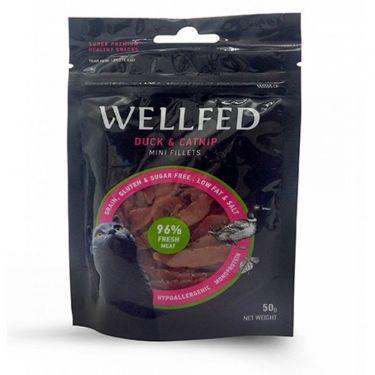 Wellfed Cat Mini Fillets Duck & Catnip