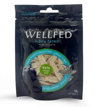 Wellfed Cat Mini Fillets Fish & Catnip