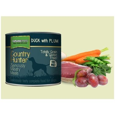 Natures Menu Country Hunter Duck with Plum