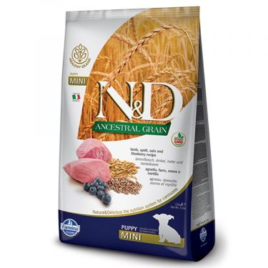 N&D Ancestral Low Grain Lamb & Blueberry Puppy Mini
