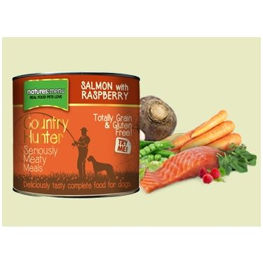 Natures Menu Country Hunter Salmon with Raspberry