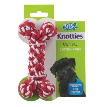 Pet Brands Knotties Κόκκαλο Κόκκινο