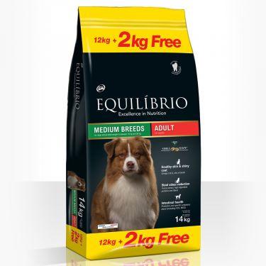 Equilibrio  Adult  Dogs Medium Breeds