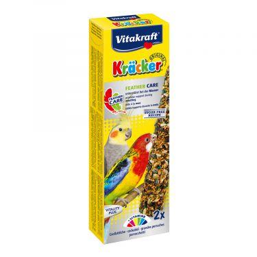 Vitakraft Kracker Feather Care για Μεσαίους Παπαγάλους