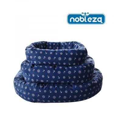 Nobleza Κρεβάτι Oval Blue Navy