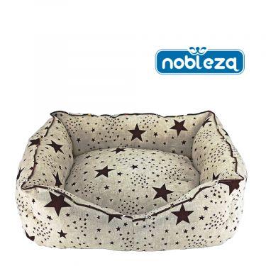 Nobleza Κρεβατάκι Πουφ Λονέτα Beige Stars
