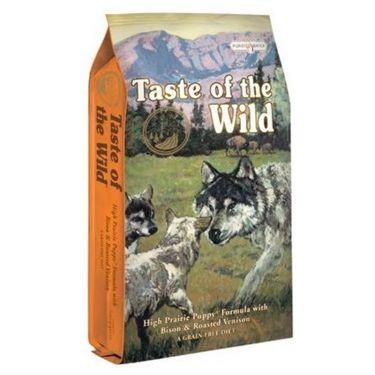 Taste of the Wild High Prairie Puppy με Βίσονα & Ψημένο Ελάφι
