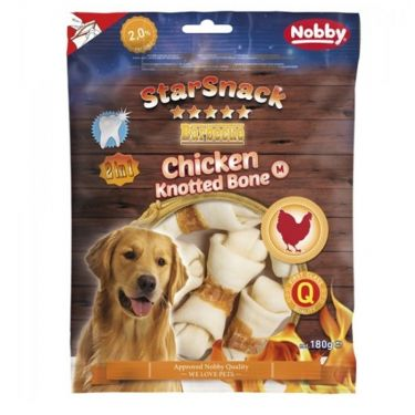 Nobby StarSnack Barbecue Chicken Knotted Bone