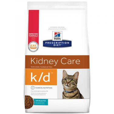 Hill's Prescription Diet k/d Kidney Care για Γάτες με Τόνο
