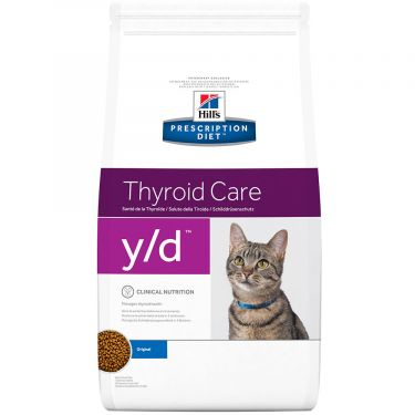 Hill's Prescription Diet y/d Thyroid Care για Γάτες