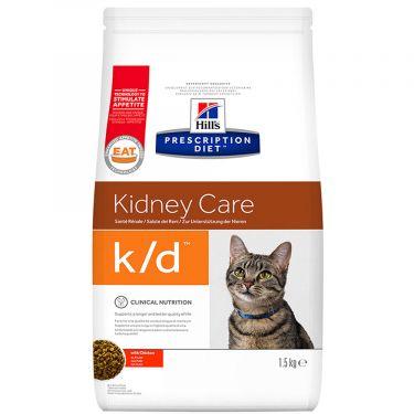 Hill's Prescription Diet k/d Kidney Care για Γάτες με Κοτόπουλο