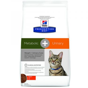 Hill's Prescription Diet Metabolic + Urinary Weight + Urinary Care για Γάτες με Κοτόπουλο
