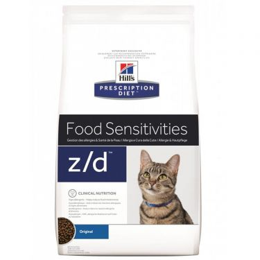 Hill's Prescription Diet z/d Food Sensitivities για Γάτες