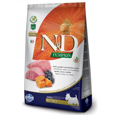 N&D Grain Free Pumpkin Lamb & Blueberry Adult Mini