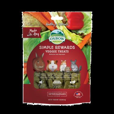 Oxbow Simple Rewards Veggie Treats