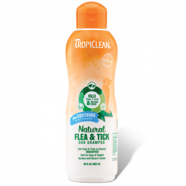 Tropiclean Natural Flea & Tick Shampoo Plus Soothing