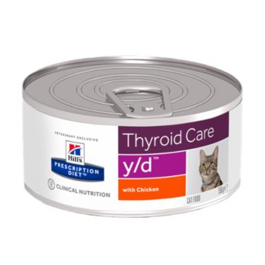 Hill's PD y/d Thyroid Care Feline with Chicken