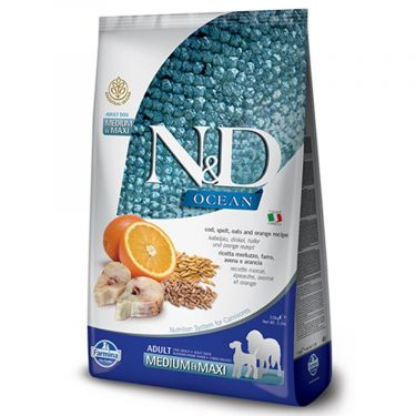 N&D Ocean Low Grain Codfish & Orange Adult Medium/Maxi
