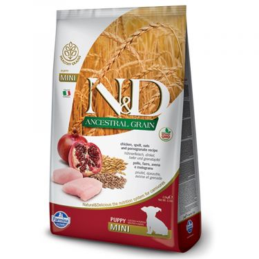 N&D Ancestral Low Grain Chicken & Pomegranate Puppy Mini
