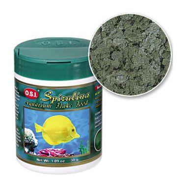 O.S.I. Spirulina Aquarium Flake Food